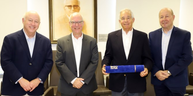 Morton Mandel Awarded Honorary Doctorate from Tel Aviv University