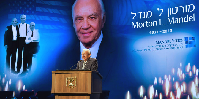 Memorial Ceremony for Morton L. Mandel